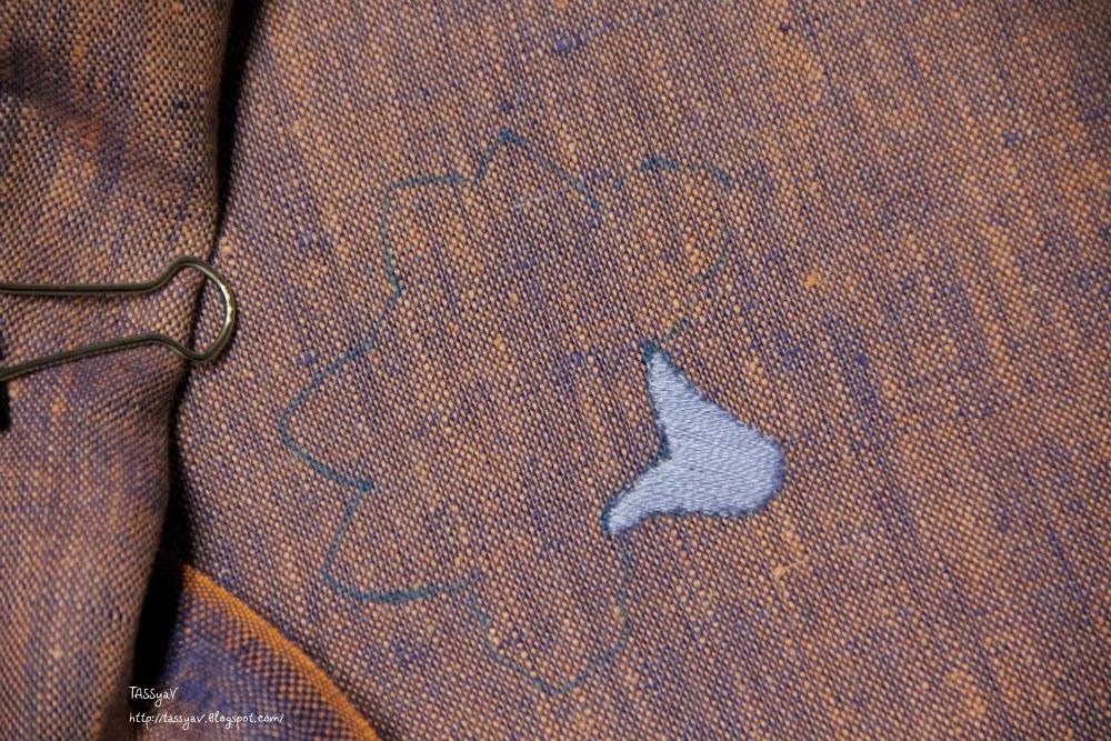 Хейзел бломкамп из книги искусство якобинской вышивки
