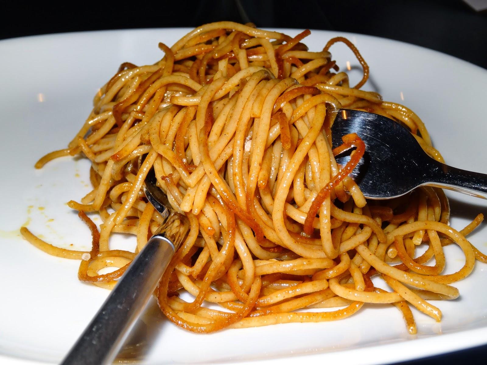 pasta på panden
