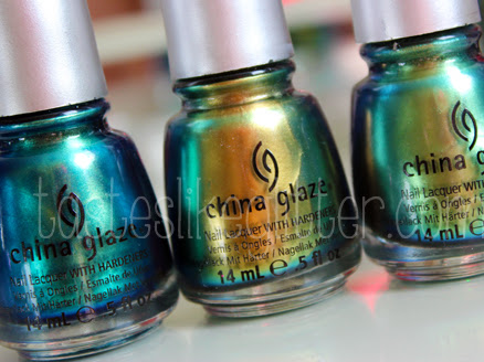 New In: China Glaze - Bohemian Luster Chrome.