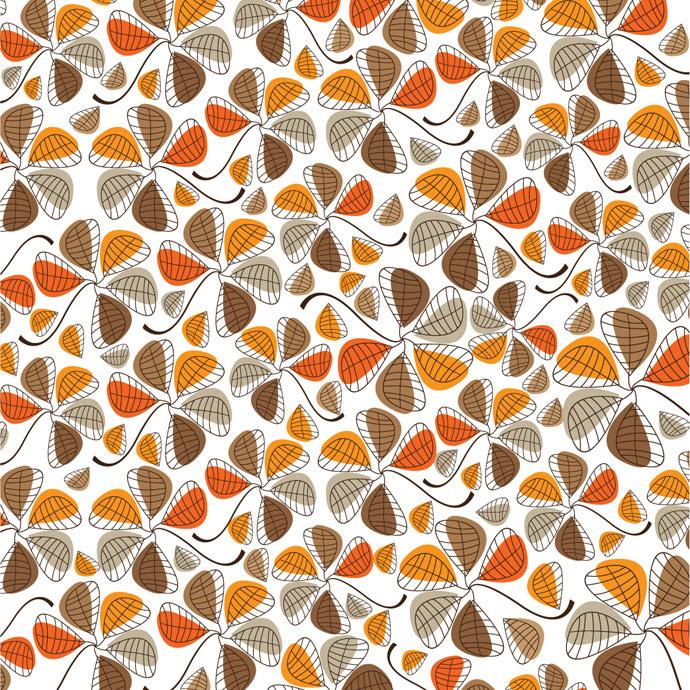bezierinfo Bezierinfoベジェインフォ: 葉のパターン floral ab..