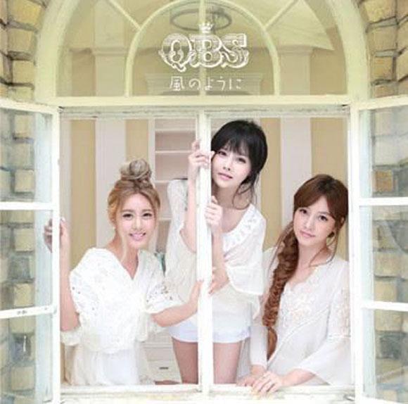 Nhóm nhỏ QBS của T-ara tung ảnh bìa album ngây thơ 1