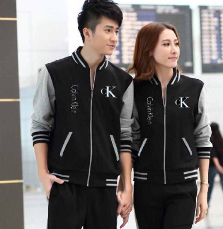 Jual Couple Cardigan New CK Murah di Jakarta Bahan Babyterry Terbaru