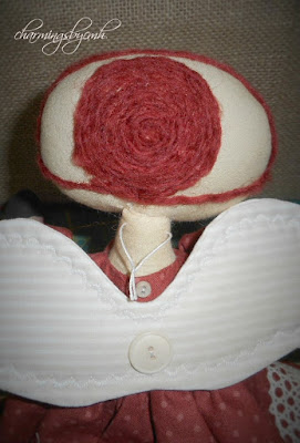 Charmingsbycmh Raggedy Ann Or Rag Doll Needle Felted And