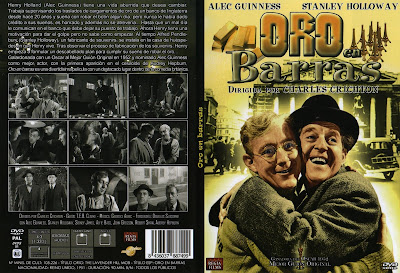 Cover, carátula, dvd: Oro en barra | 1951 | The Lavender Hill Mob