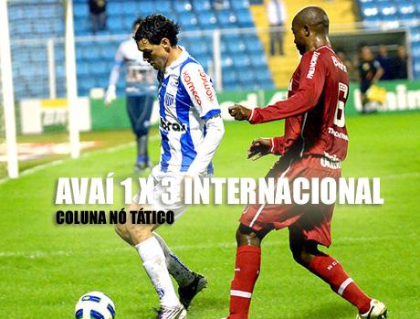 Avaí 1 x 3 Internacional pela décima primeira rodada do Campeonato Brasileiro