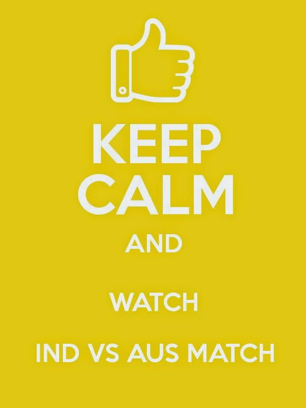 India vs Australia Keep Calm and watch Whatsapp profile pics semi final today cricket world cup 2015