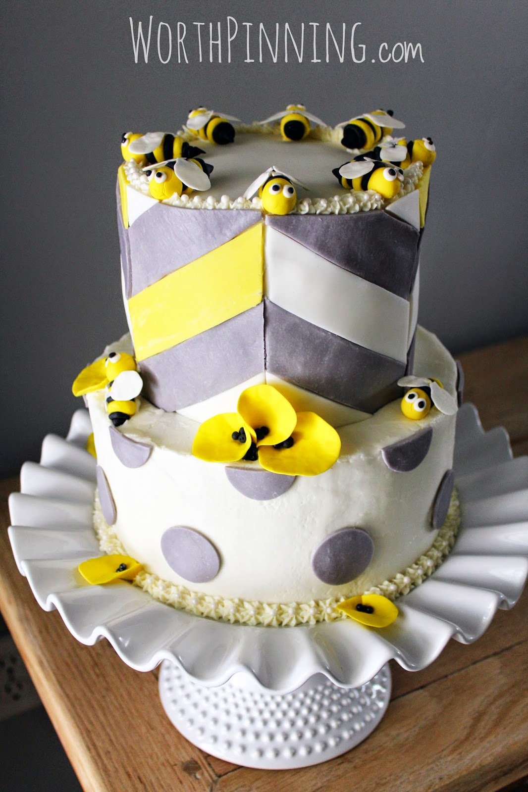Worth Pinning Mommy To Bee Cake