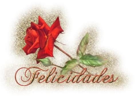 gifs de felicidades rosas