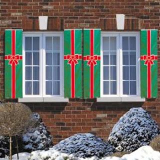 Decoracion de Ventanas para Navidad, parte 2