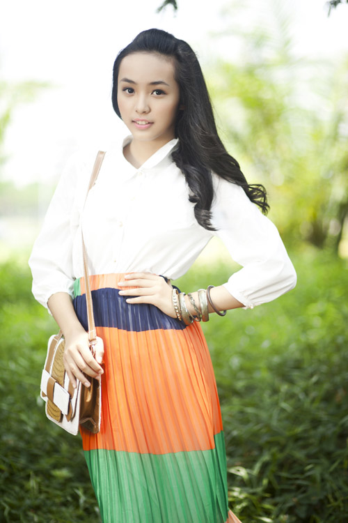 Ảnh girl xinh 9x VN - Bảo Trân khoe dáng nữ sinh, hot girl 9x