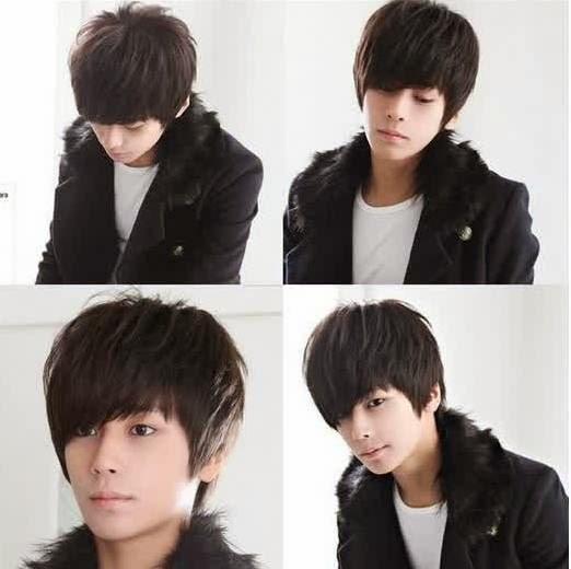 Koleksi Gambar Model Dan Gaya Rambut Pria Korea Tren Model - Gaya rambut pendek emo