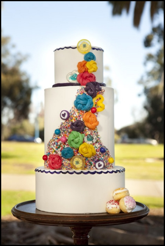 50 Unusual Wedding cakes designs