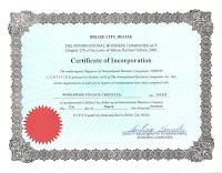 Сертификат Leveron ДУ