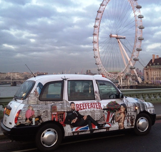 taxi livery advertising campaign london