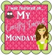 I was featured on My Crafty Friends Monday Blog