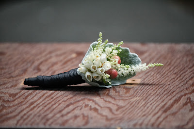 Falkirk Estate and Country Club Wedding Pictures - Wedding Flowers - Astilbe Boutoniere Splendid Stems - Central Valley, NY