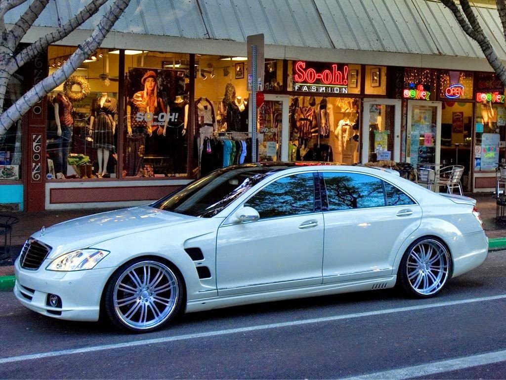 Benztuning mercedes benz s class w221 on breden wheels for Mercedes benz s class rims