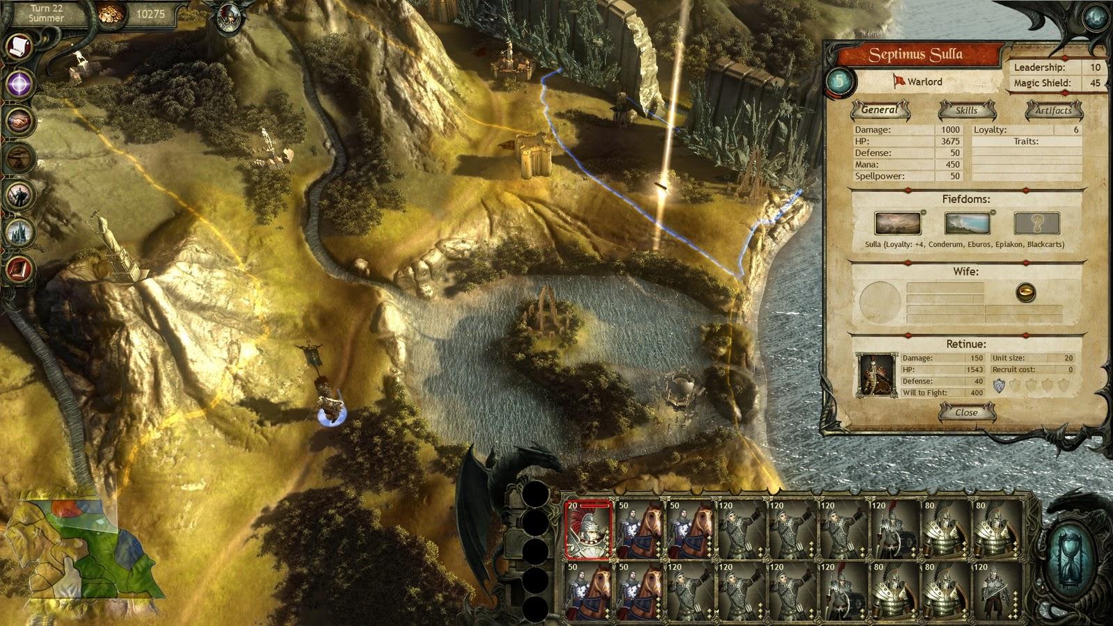 Dream Games: King Arthur II - Dead Legions
