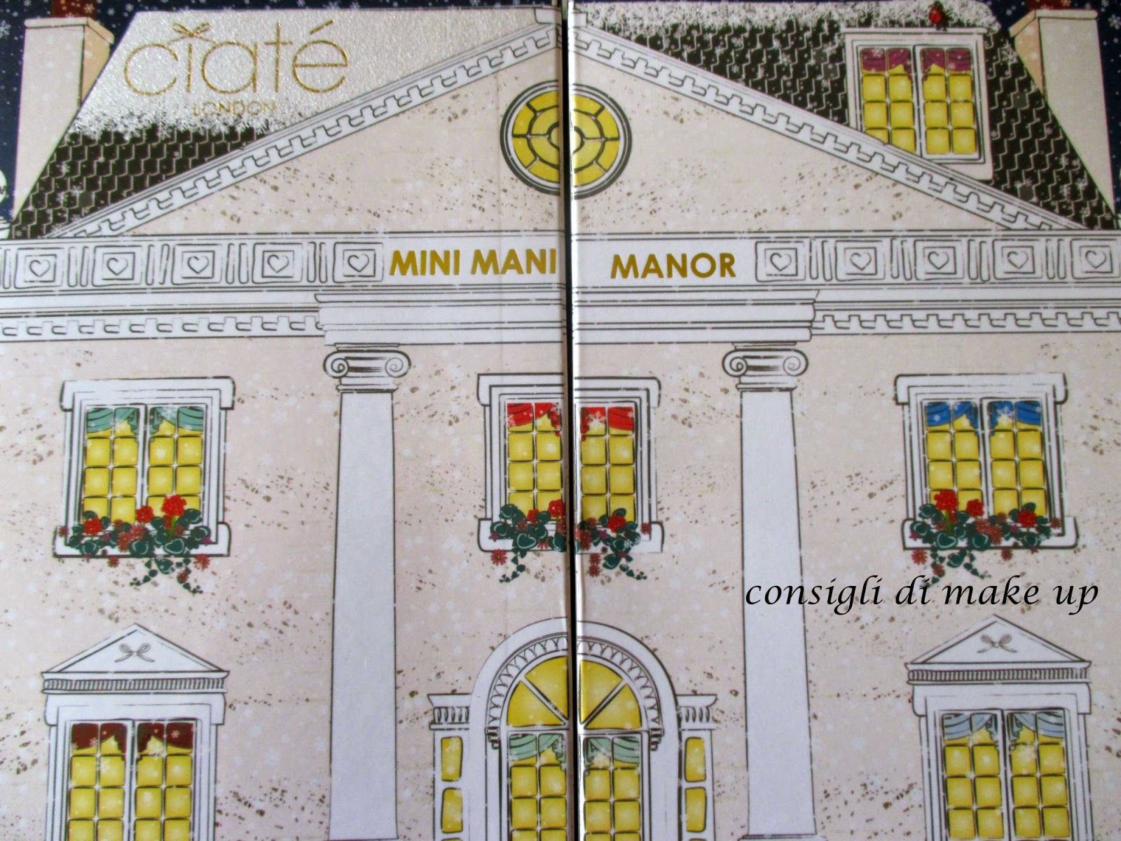 Calendario dell'Avvento Mini Mani Manor - Ciatè [I Parte]