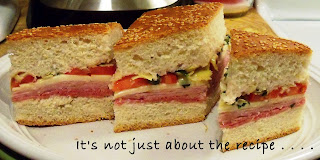 Italian Muffuletta Sandwich