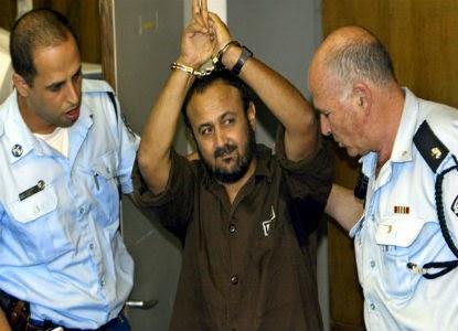 Marwan Barghouti, líder popular do partido Fatah - Palestina