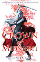 UK cover of Crown of Midnight by Sarah J Maas