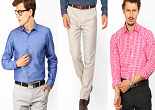 Jabong: Buy Black Coffee Men Shirts at Rs. 321 and Trousers at Rs. 417 only