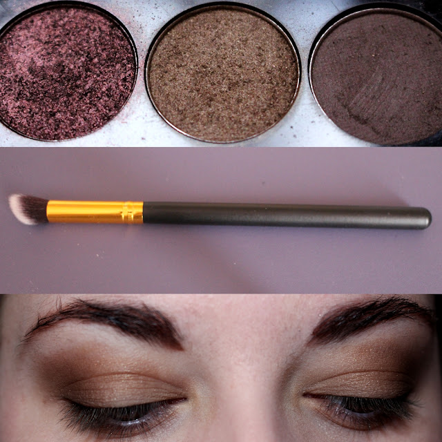 Maquillage palette sleek au naturel moss swatch