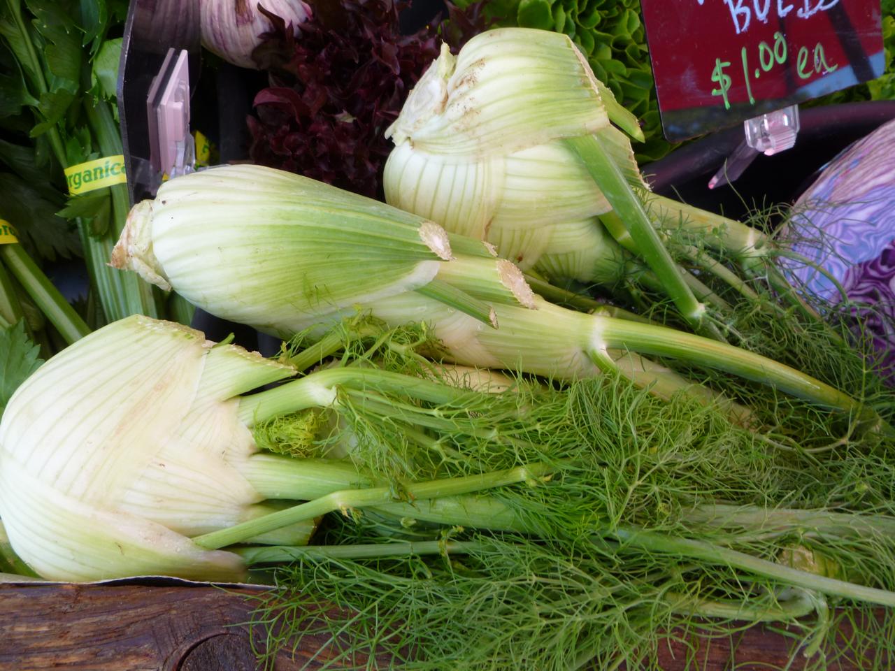 Fairmount Neighborhood Farmers Market: Fennel and Sardine Pasta