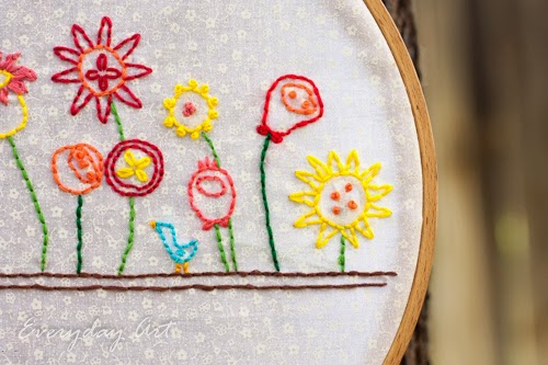 http://www.our-everyday-art.com/2014/10/flower-garden-embroidery-hoop-art.html