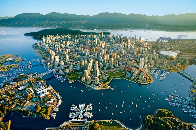 aerial photography - Vancouver