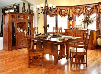 Oak Mission Style Kitchen Cabinets