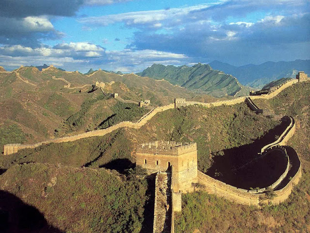 The big wall of China