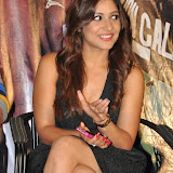 Prabhjeeth Kaur Hot Photo Gallery in Short Dress at Intelligent Idiot Movie Logo Launch 32