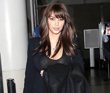 Kim Kardashian Hair 2013
