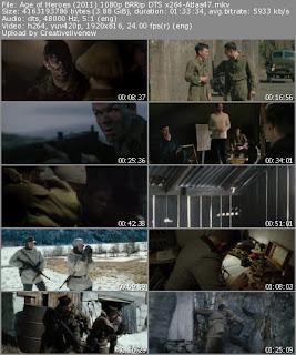 Age of Heroes Movie Screen