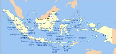 peta provinsi di Indonesia