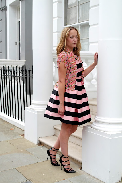 Topshop Stripe Dress by What Laura did Next