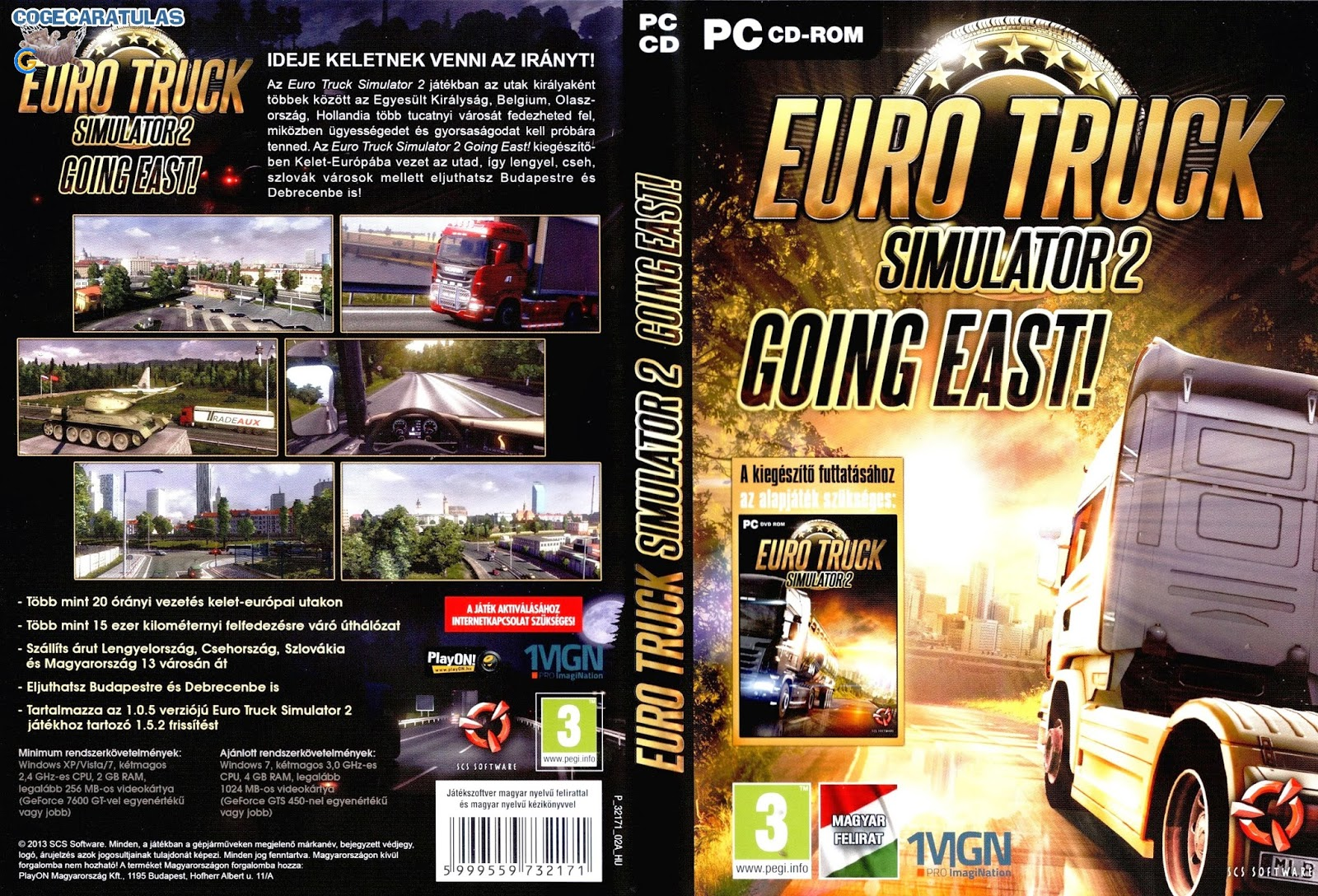 تحميل لعبة Euro Truck Simulator 2 برابط واحد