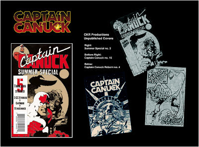 Unreleased issue 4 of Captain Canuck Reborn series from 1993
