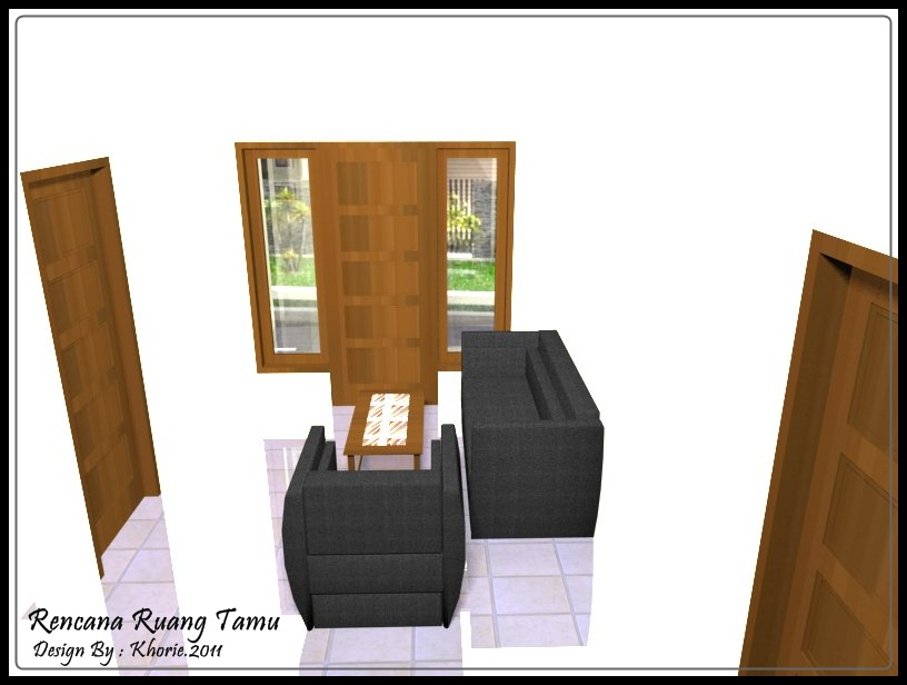 Griya Idaman Anda: Desain Interior Dapur & Mini Bar Milik