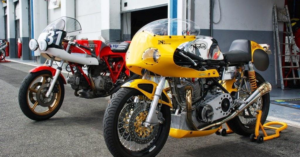 Racing Cafe Norton Commando 897 By Yellow Peril Team Bol DOr Classic 2014