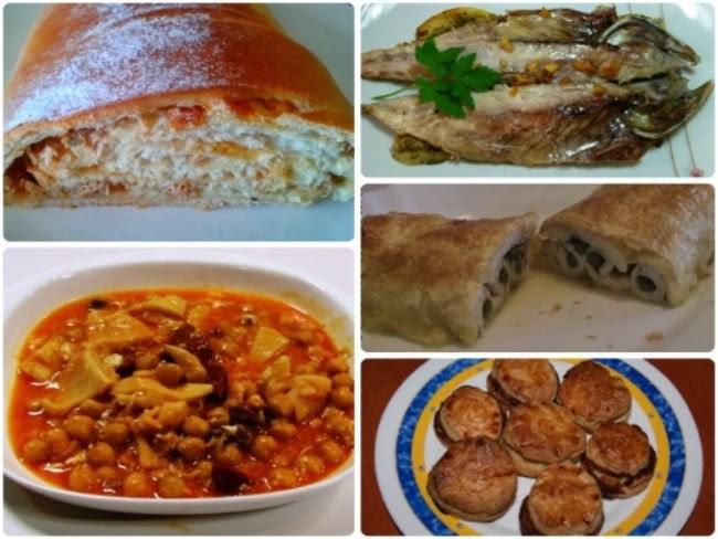 Menú con Cinco Recetas nº 19