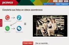 PicoVico: convierte un conjunto de fotos en videos con música y efectos