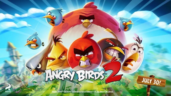 Rovio announces Angry Birds 2, launching July 30