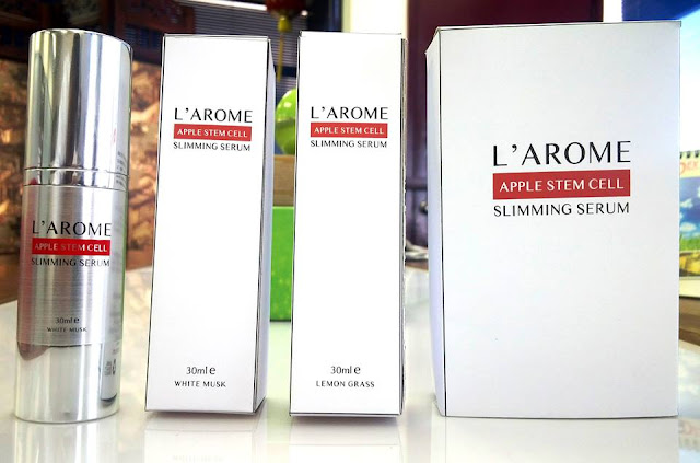 Dianna Redzuan: L'arome slimming serum