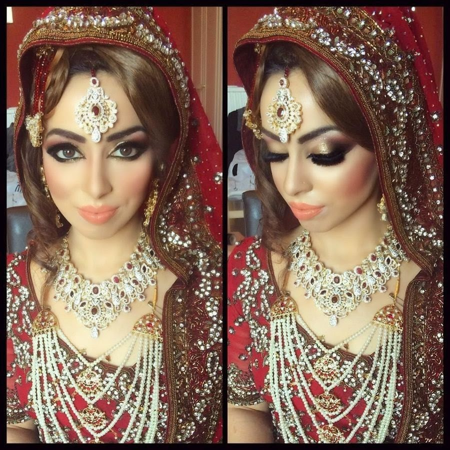 Bridal Makeup New Pics : Pakistani Bridal Makeup Pictures 2015 - Latest Bridal ...