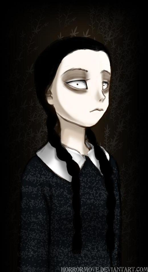 Wednesday Addams por Cotton / コットン