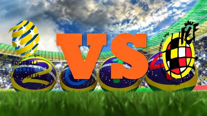 Prediksi Skor FIFA World Cup Terjitu Australia vs Spanyol jadwal 23 Juni 2014