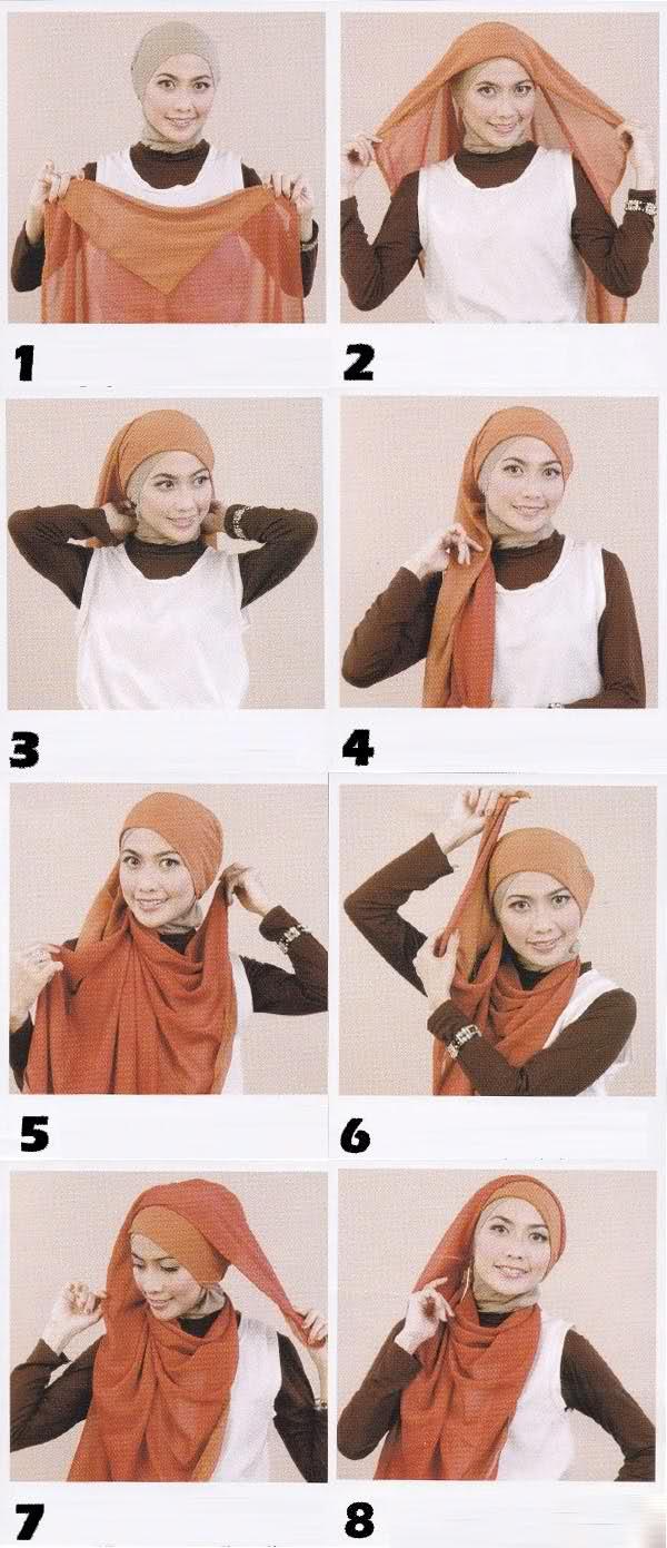 Unique Mode Mode Cara Memakai Jilbab Modern